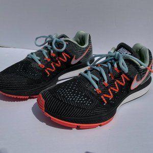 EUC Women's Nike Zoom Black Pink Blue 9.5 Running